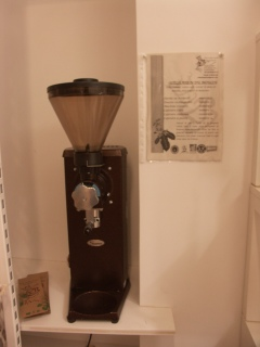 pour moudre le café sur place
