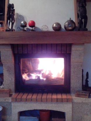 Premier feu de cheminée