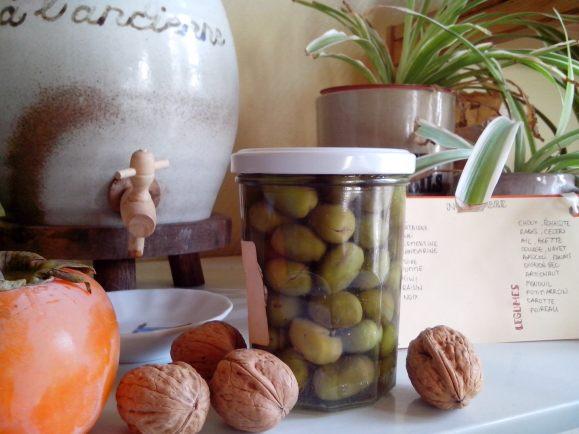 olives des baux du marché Dormance Petit Chat Grain