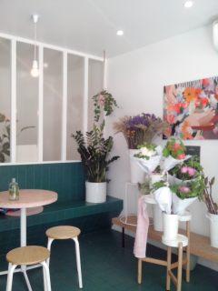 The peonies snack- fleuriste Paris