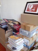 cartons...
