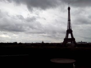 Paris sous la pluie