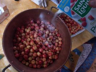 confiture de cerises
