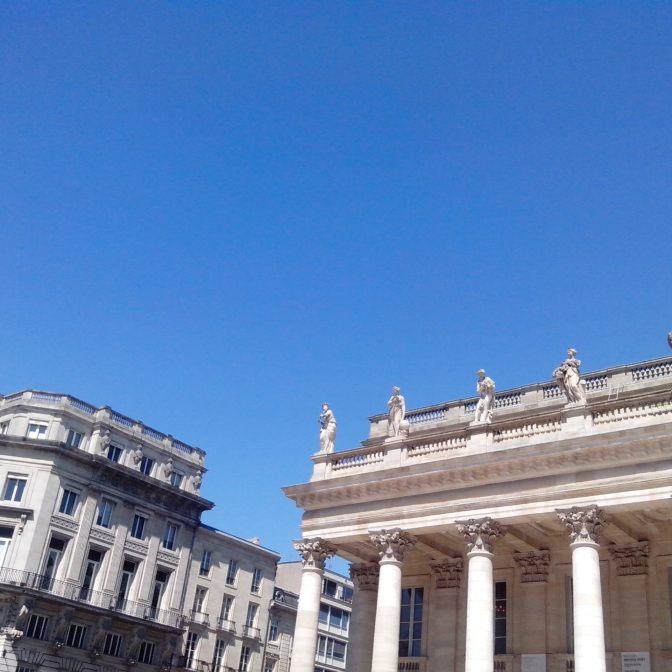 Les muses du Grand Théâtre de Bordeaux