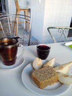 Petit déj à L'écomotive Marseille