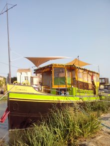 L'épicerie flottante Canal du Midi