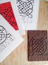 Atelier linogravure avec Vincent Tavernier