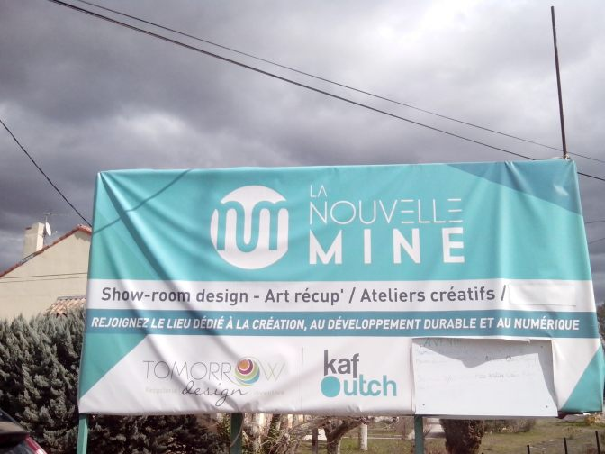 la nouvelle mine Gréasque