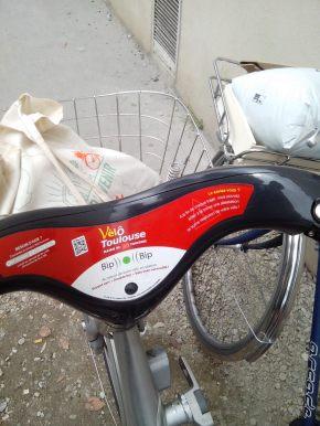vélo dans Toulouse