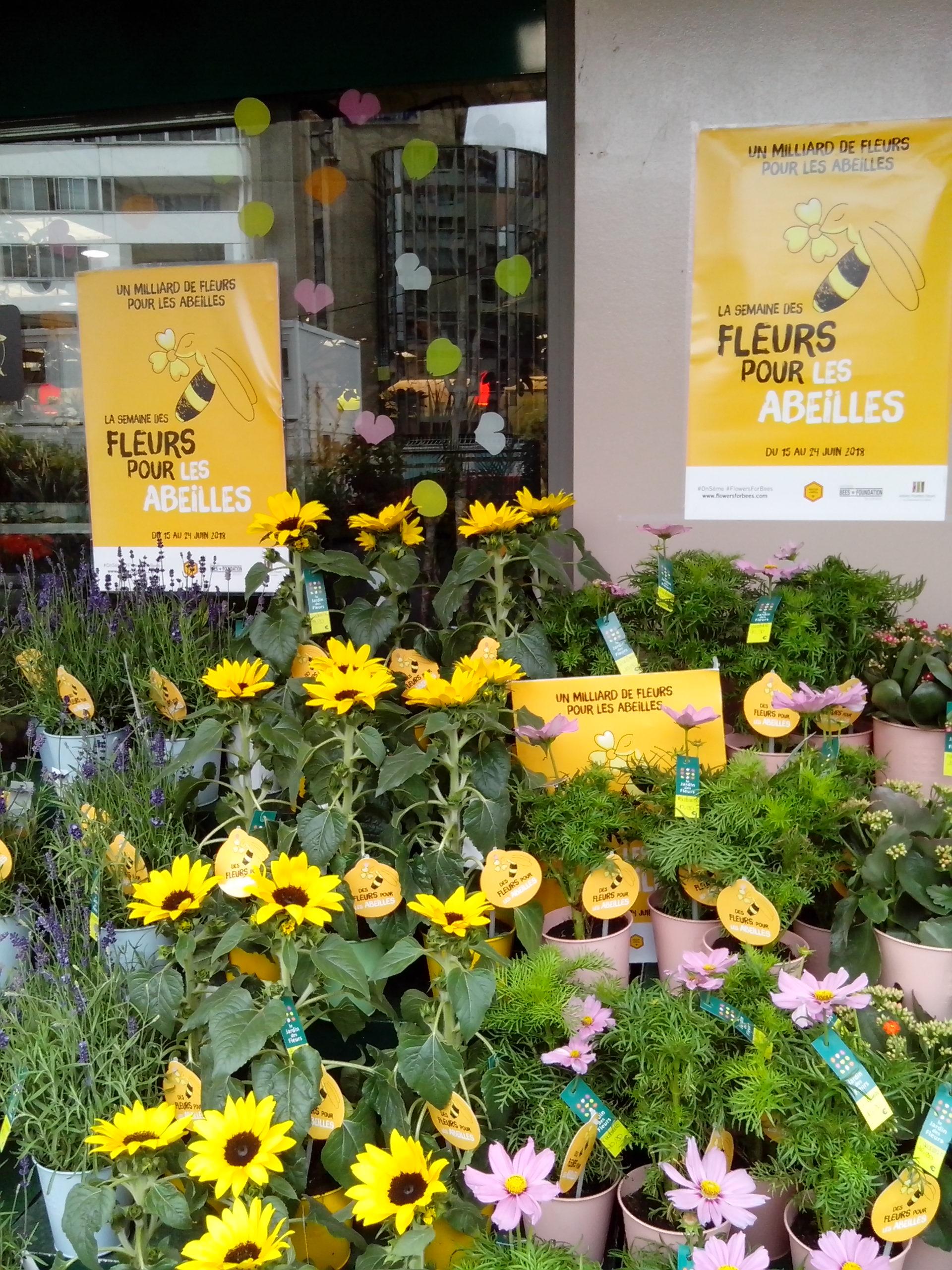 Des fleurs pour les abeilles
