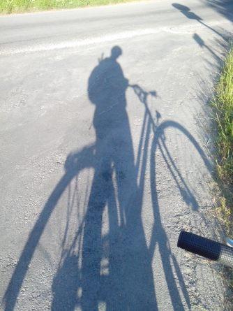 à bicyclette !