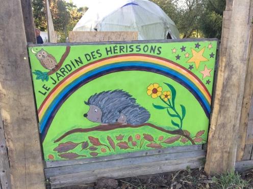 le jardin des Herissons